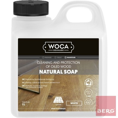 Natural Soap White - Натурален сапун White 1л