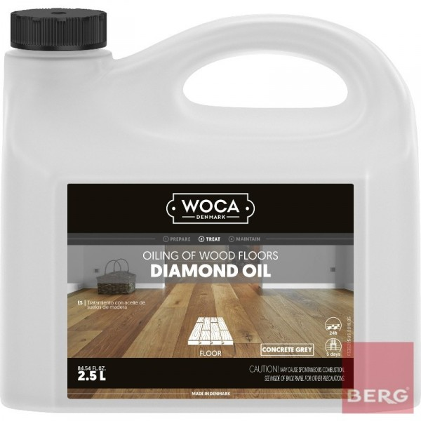 Diamond Oil Concere Grey - Масло за под Diamond Concere Grey 2,5л